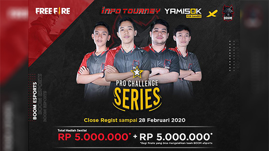 Turnamen Free Fire – Yamisok Pro Challenge Series