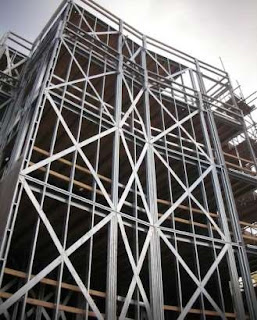 Konstruksi Struktur Steel Braced Frame