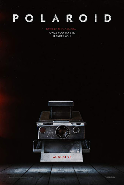 Movie poster for the latest Dimension Films horror movie Polaroid (2019), directed by Lars Kleverg