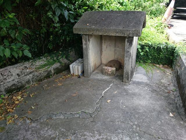 カシタ山拝所の写真