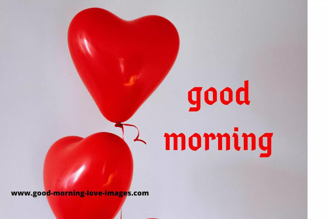 Good morning love images with heart