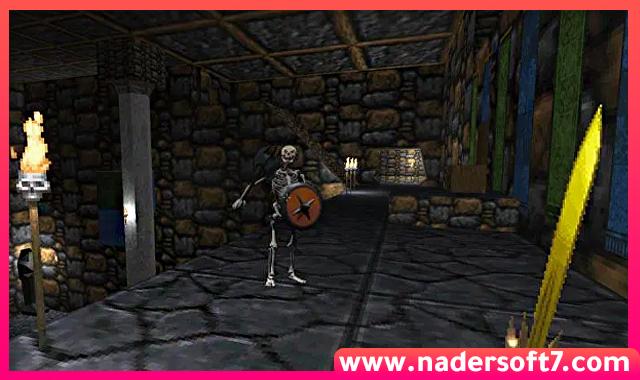 تحميل لعبة المغامرة والقتال The Elder Scrolls II Daggerfall