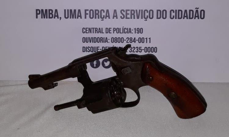 Homem é preso por porte ilegal de arma de fogo em Ribeirão do Largo