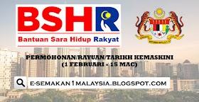 Daftar Permohonan dan Kemaskini BSH 2020 (1 Februari)