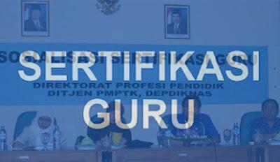 Cara cek peserta sertifikasi dan PLPG