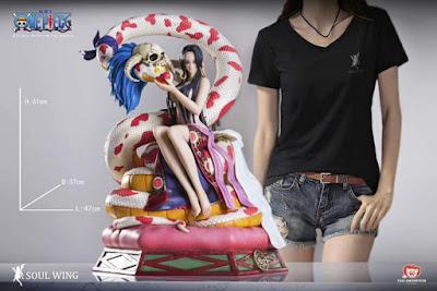 Figuras: Nueva figura de Boa Hancock de One Piece por Soul Wing