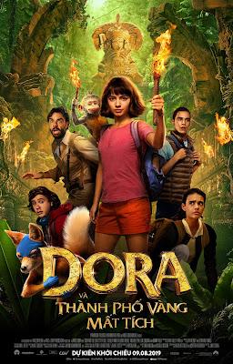 Xem Phim Dora Và Thành Phố Vàng Bị Lãng Quên