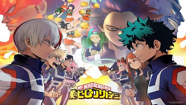 مشاهدة انمي Boku no Hero Academia مترجم اون لاين