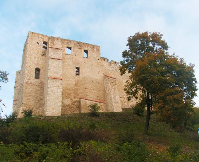 Kazimierz nad Wisłą, ruiny, zamek, wzgórze