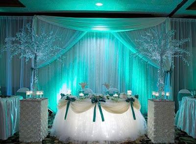 illuminazione sala per matrimonio tiffany