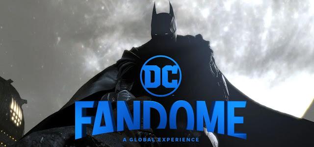 DC FanDome altera cronograma, adiando alguns painéis para segundo dia