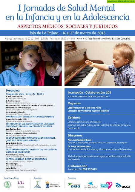 I Jornadas de la Salud Mental en la Infancia y la Adolescencia