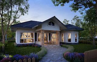 แบบบ้านชั้นเดียวราคา 2 ล้าน