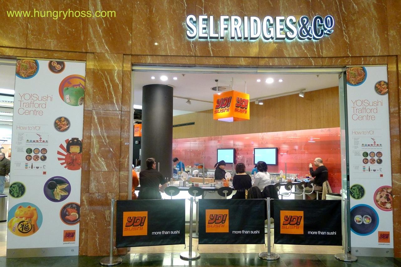 HUNGRY HOSS: YO! Sushi, Trafford Centre