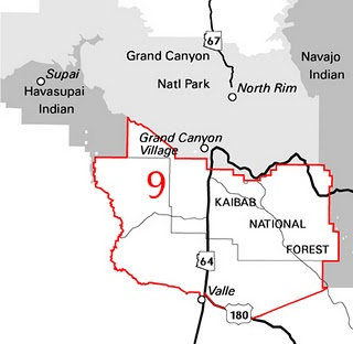 Map Of Unit 23 Arizona.Colburn And Scott Outfitters Arizona Elk Hunts
