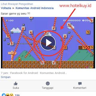 Cara download video di Facebook ke galeri hp
