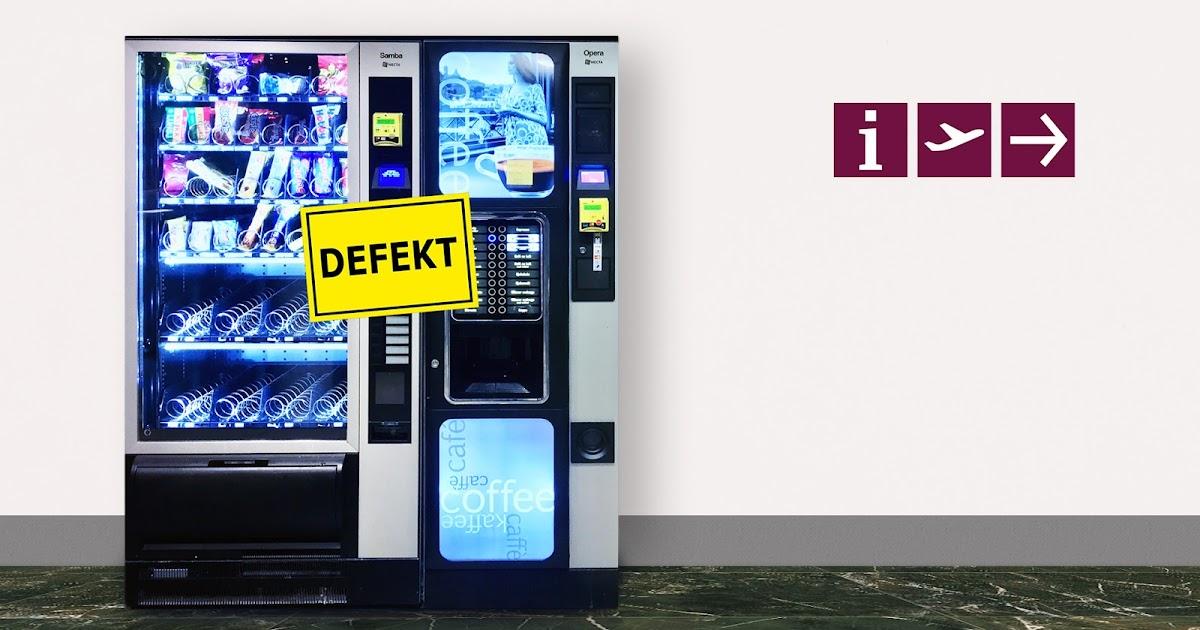Automaten im BER müssen ausgetauscht werden, weil sie noch mit DM laufen