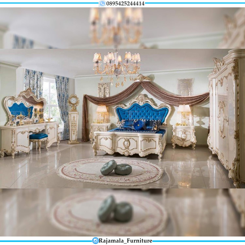 Tempat Tidur Mewah Ukiran Jepara Luxury Classic Wonderful RM-0069