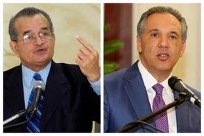 Guerra de los tuits entre Franklin Almeyda y el ministro administrativo de la Presidencia no quedó solo en las palabras de José Ramón Peralta
