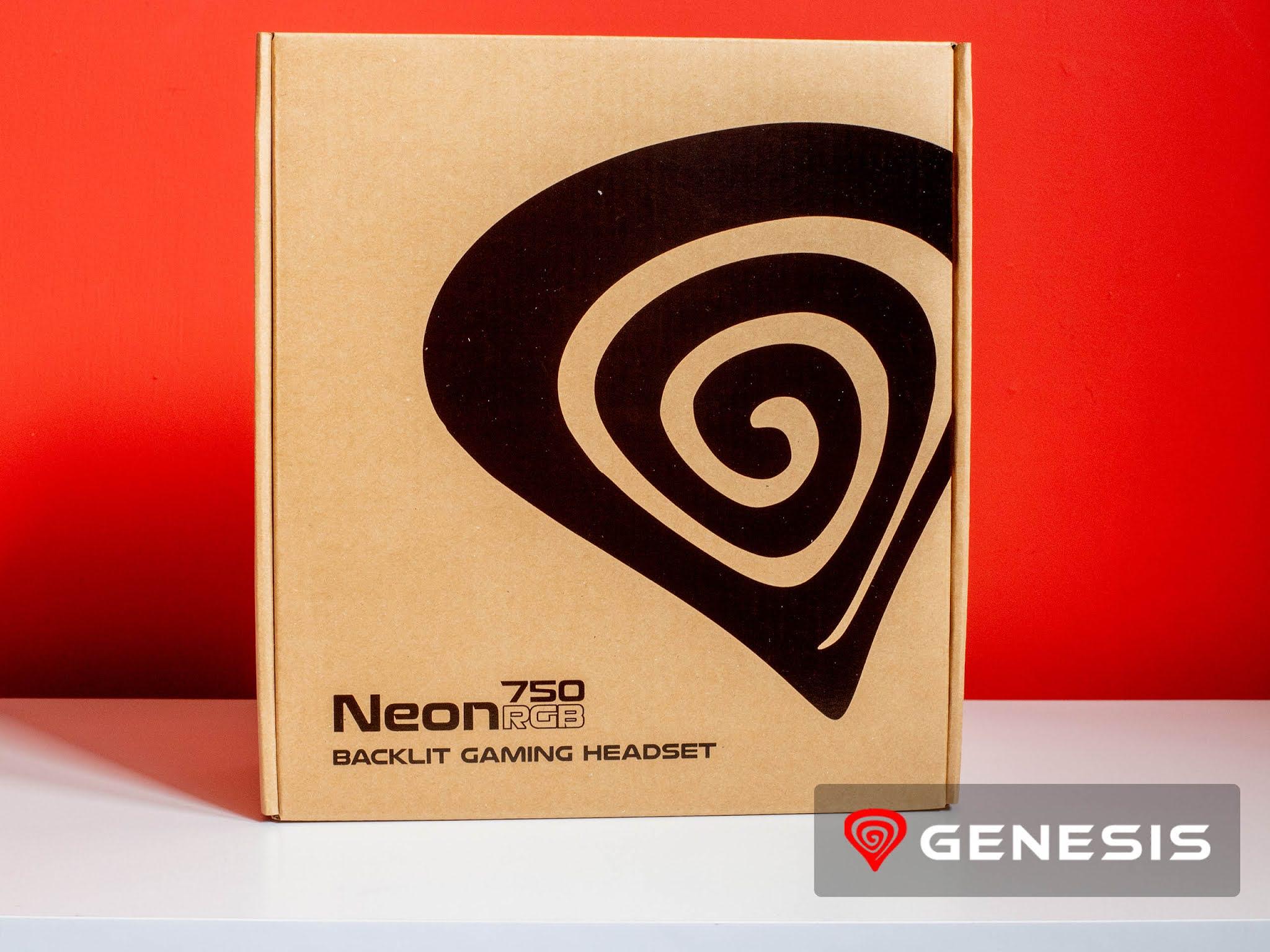 Genesis Neon 750 RGB pudełko