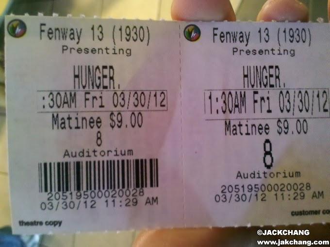 美國留遊學-HUNGER飢餓遊戲是我在波士頓看的第一部電影。