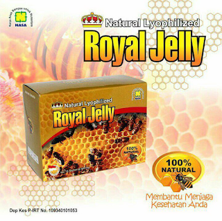 Obat Depresi Nasa Royal Jelly