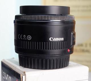Jual Lensa Canon 50mm ( Lensa Fix Bekas )