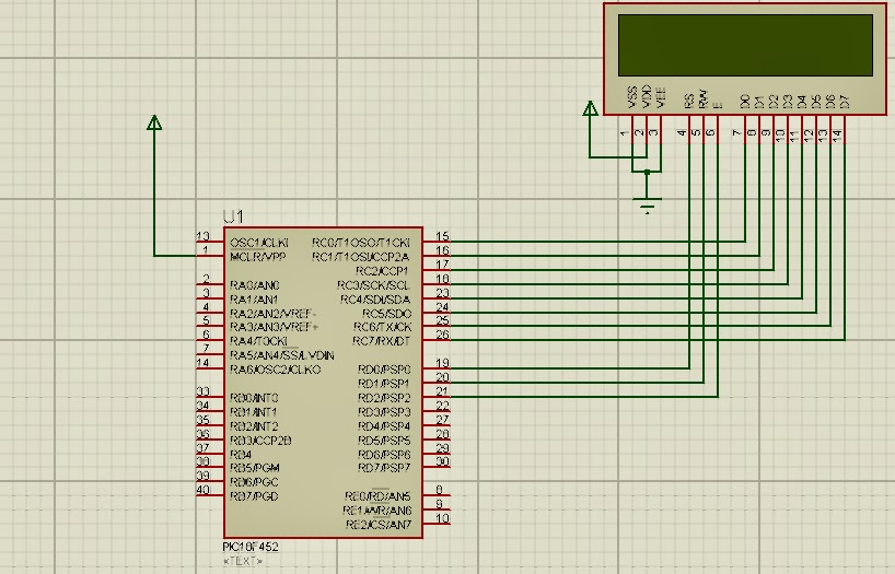 Microcontroller Projects For Beginners: INTERFACING 16X2 LCD TO
