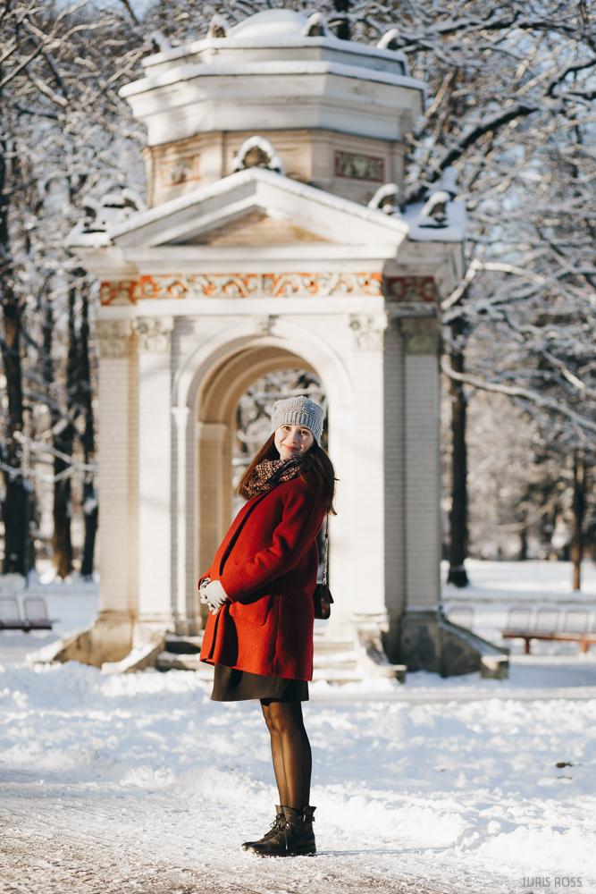 kur fotografēties ziemā