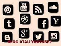 Mana Terbaik, Menjadi Blogger atau YouTuber?