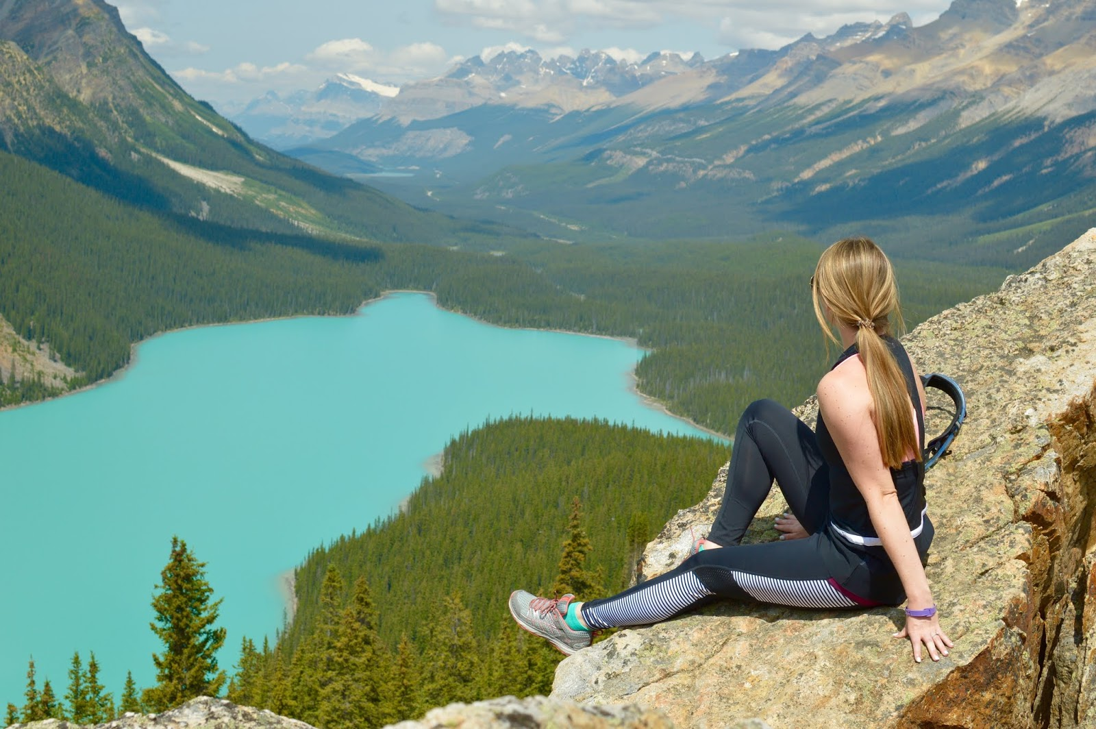 Views from Peyto Lake | Must see places in Banff | Peyto Lake Picture Spot | Where to go at Peyto lake | Banff Itinerary | A memory of us