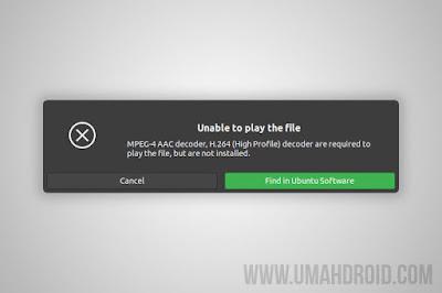 Cara Memutar File Multimedia di Ubuntu