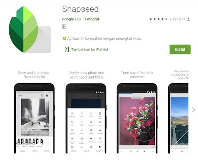 Download Aplikasi Edit foto terbaru dan terkeren untuk android