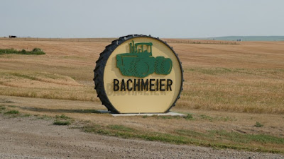 farm, sign, Richmound, Saskatchewan