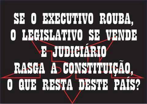 Resumo da bagaça:  Primeiro o STF se curvou a um corrupto, Renan Calheiros, agora se curvou a todos.