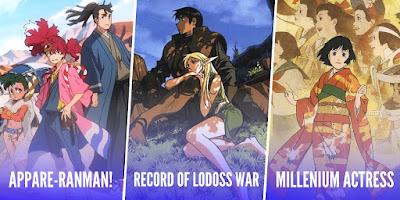 ¡Selecta Visión anuncia tres nuevas licencias anime! Appare-Ranman, Record of Lodoss War y Millenium Actress.