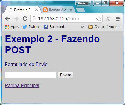 Renato Aloi: Tratando POST no Web Server do ESP8266