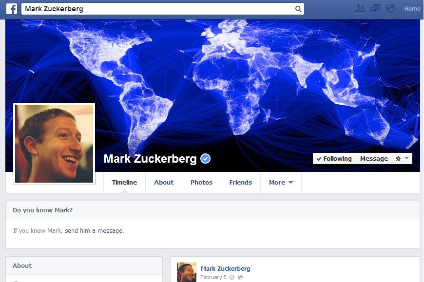Mark Zuckerberg Update: Hacker Removed Mark Zuckerberg's Facebook Timeline Cover Photo