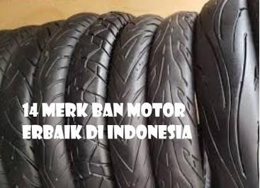 14 Merk Ban Motor Terbaik di Indonesia