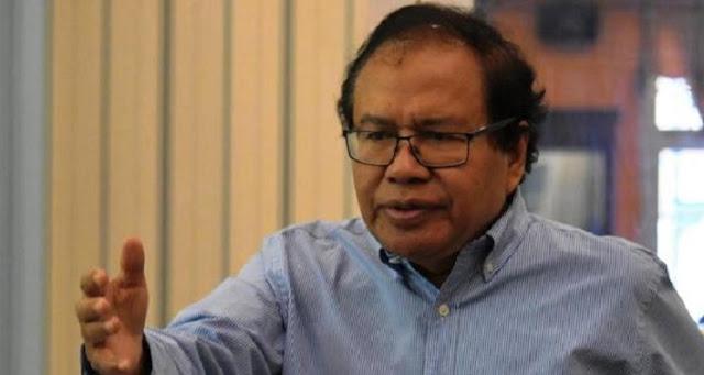 Rizal Ramli: Buzzer Memuja-memuja yang Bayar Dia Kayak Dewa