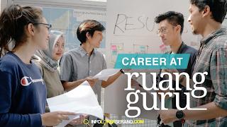 Lowongan Kerja Account Manager PT. Ruang Raya Indonesia (Ruangguru) Cilegon