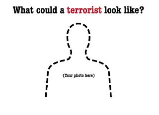 tu sei un terrorista