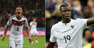 Alemania vs Francia en Semifinal Eurocopa 2016