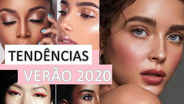 tendências do verão 2020 maquiagem