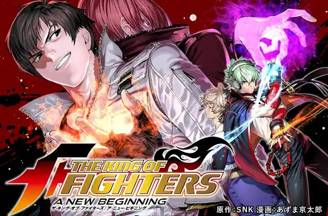 Mangá The King of Fighters Brasil