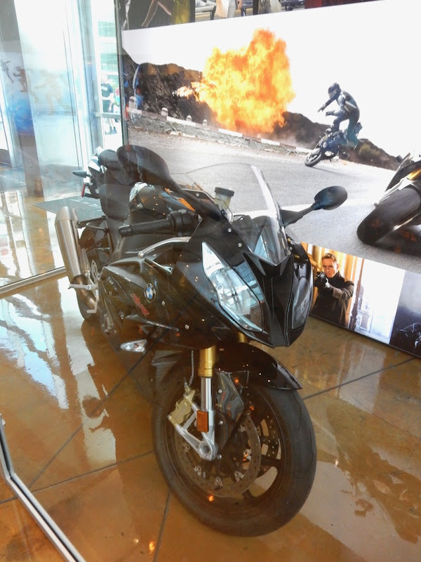 Mission Impossible Rogue Nation BMW motorcycle