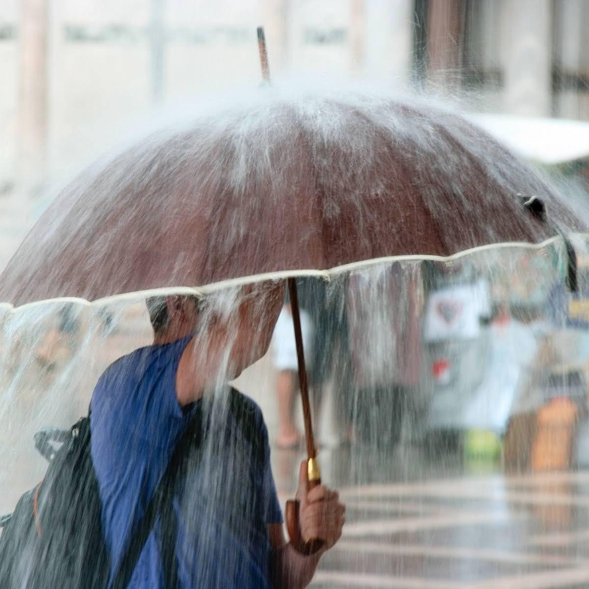 中央氣象局大雨特報}有局部大雨發生的機率|請注意雷擊及強陣風