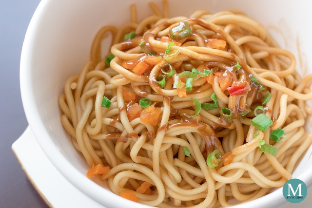 Reganmian Hot Dry Noodles at Horizon Club Lounge, Shangri-La Hotel Wuhan