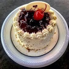 Tasty eatable stuff mixed cake for New Years and Christmas season