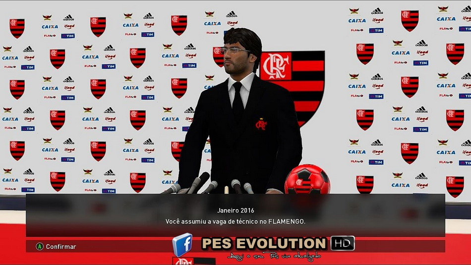 PES 2017 Press Room CR Flamengo by PES Evolution HD